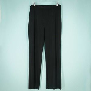 Exclusively Misook M Black Knit Pull On Pants